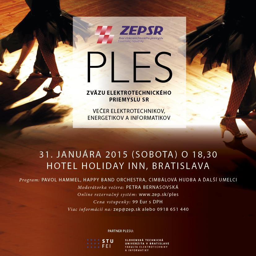 Pozvánka Ples ZEP SR 2015